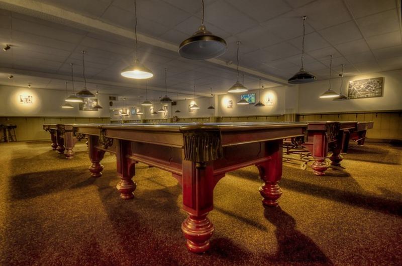 Il tavolo da biliardo in casa