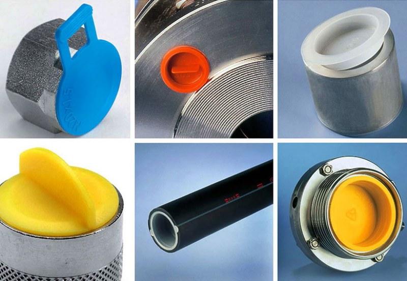 Protezioni in plastica nel settore industriale: tappi, cappucci, calotte